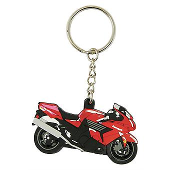 Bike It Kawasaki ZZR-1400 Rubber Keyfob - #96
