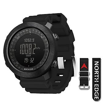 Men's Sport Digital Watch Hours Running Swimming Military Army Altimeter