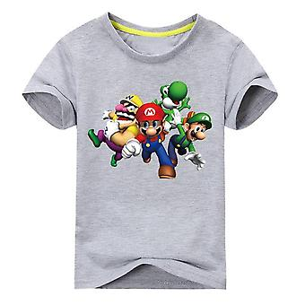 Unisex Short Sleeve Cartoon Tshirt , Design 4, Infant