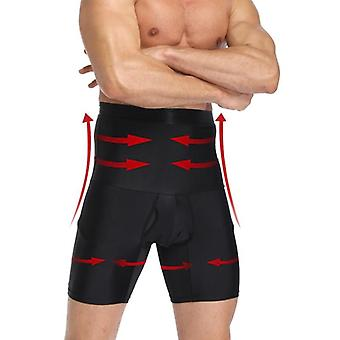 Mens Body Shaper Compression Shorts