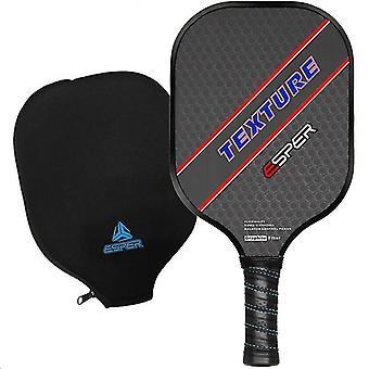 Pickleball Paddle- Lightweight Graphite Racquet, Textured Surface Racket