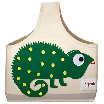 3 Sprouts Bag with handle - Iguana