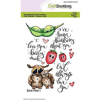 Käsityöläiset Clear Stamps A6 - Love Puns 1 Carla Creaties