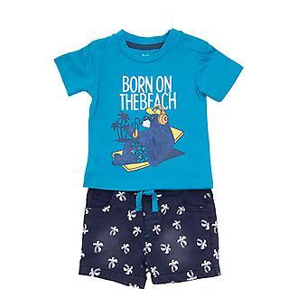 Baby globe Boys 2-piece Clothing Set Born On The Beach