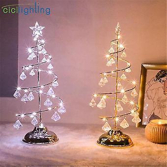 Gold Silver Led Christmas String Light ,bedroom