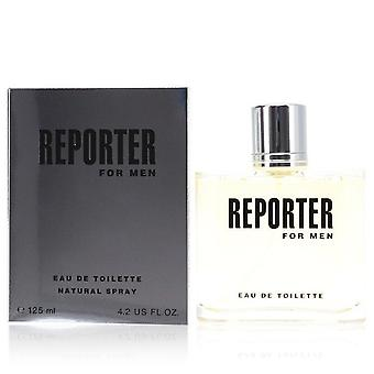 Reporter Eau De Toilette Spray By Reporter 4.2 oz Eau De Toilette Spray