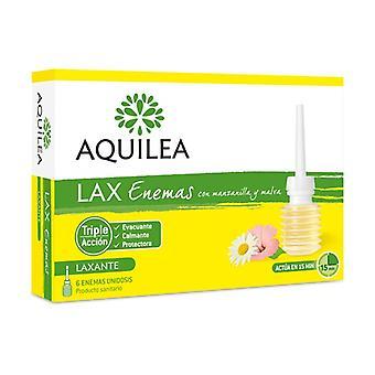 Aquilea Lax Enemas 6 enheter