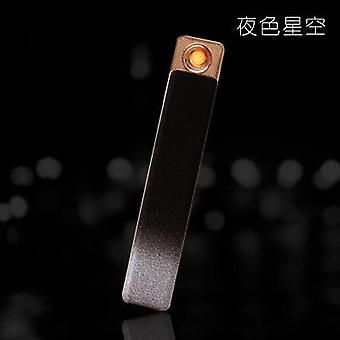 Usb Thunder Lighter High Power Windproof Dual Arc Flameless Rechargeable