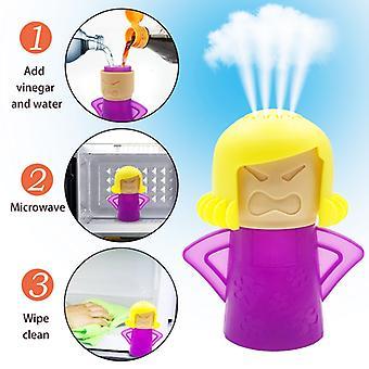 Nettoyeur à micro-ondes four à vapeur Nettoie facilement les appareils nettoyants à vapeur four à micro-ondes pour le nettoyage du réfrigérateur de cuisine