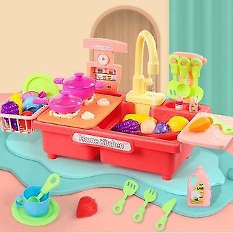 Kitchen Sink Pretend Play Wash Up Kitchen Dishwasher
