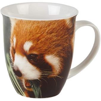 Gerui Red Panda Porcelain Mug 480ml