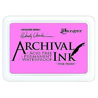 Wendy Vecchi - Almohadillas de tinta de archivo - Peonía rosa