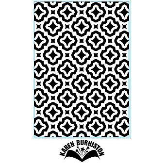 Elizabeth Craft Designs Embossing Folder - Trendy Tiles 1