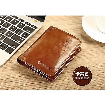 Manbang klassinen lompakko aito nahka miesten lompakot lyhyt mies kukkaro kortin haltija lompakko miehet muoti korkea laatu