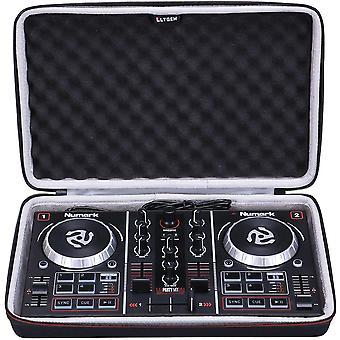 EVA Case für Numark Party Mix Zweikanal-Starter-DJ-Controller - Tragetasche mit Schutzhülle