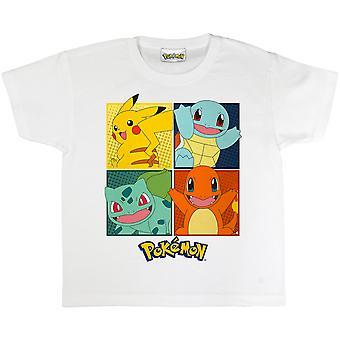 Pokemon Girls Squares T-Shirt