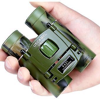Mini kiikarit, 8x21 Teräväpiirto Korkea resoluutio (vihreä)