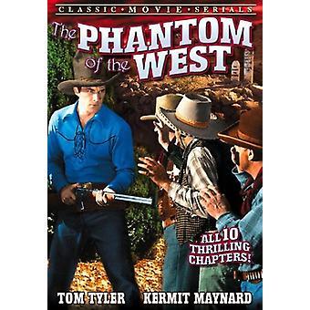 Tom Tyler - Phantom of the West [DVD] USA import