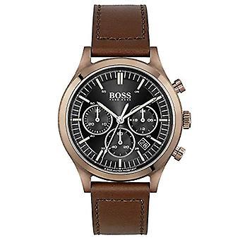 שעון הוגו בוס קוורץ עם רצועת עור 1513800