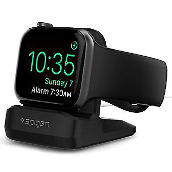 Spigen S350 Designed for Apple Watch Stand for All 44mm/40mm Series 6/SE/5/4 and 38mm/42mm Series 3/2/1 - Black