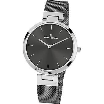 جاك ليمانز ساعة اليد المرأة ميلانو كلاسيك 1-2110F