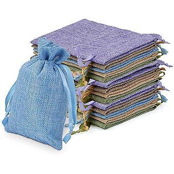 FengChun Stoffsäckchen Säckchen zum Befüllen Stoffbeutel Leer Lavendelsäckchen basteln Kleine