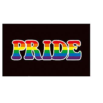 Rainbow flag gay les pride peace lgbt asexualism banner 3x6 ft ch09