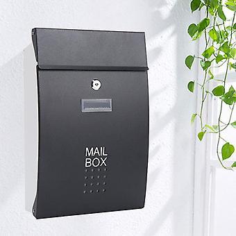 الجدار شنت الفولاذ المقاوم للصدأ عمودي قفل البريد صندوق البريد