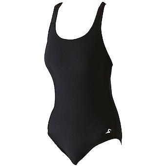 SwimTech Splashback Black Swimsuit Adult - 38 Inch