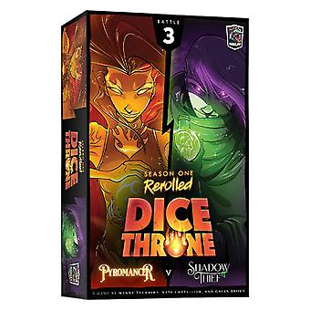 Dice Throne: Season One Rerolled 3: Pyromancer vs. Shadow Thief