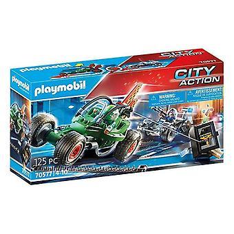 Lekesett City Action Police Kart Playmobil 70577 (125 stk)