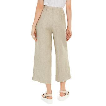 Eileen Fisher Womens Organic Linen Cropped Pants