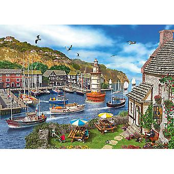 Gibsons Lighthouse Bay Jigsaw Puzzle (1000 pièces)