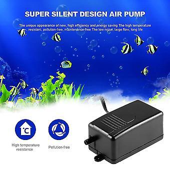 Fekete Super Silent Elektromos 220-240v 3w Hal Akvárium Oxigenációs Légszivattyú