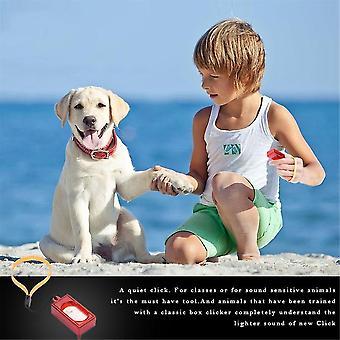 Mini rohant ultrahangos kutya Kisállat Clicker Képzés Trainer Pet Kellékek