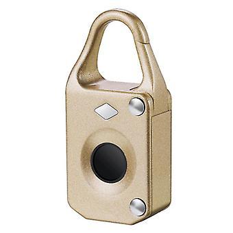 Anti-theftl electronic smart fingerprint padlock outdoor travel suitcase bag lock