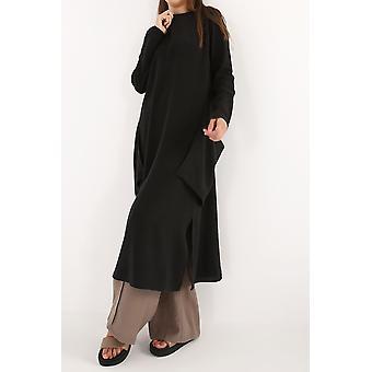 Huge Pocket Linen Long Tunic