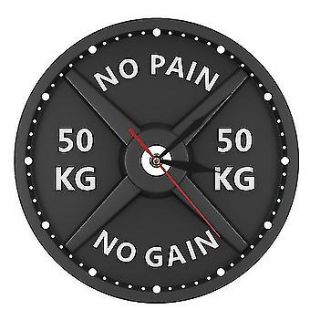 Sport fitness bodybuilding akryl vegg klokke