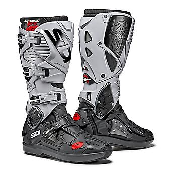 Sidi Crossfire 3 SRS Black Ash Boots Special CE