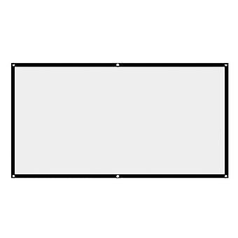 100 Inch/152 * 221 cm 150 inch hd ecran de proiecție anti-crease cu agățat gaura de interior în aer liber utilizarea zf0031