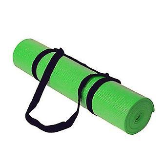 Kabalo - 183cm pitkä x 61cm leveä - liukumaton Yoga Mat kanssa kantohihna myös liikuntaan / kuntosali / retkeily, etc (vihreä)