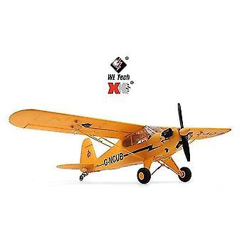 Xk A160 Rc Plane 3d/6g 7.4v High Performance - 1406 Brushless Motor Airplane -