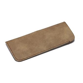 Soft Leather Reading Waterproof Solid Sunglasses Pouch Eyewear Accessories