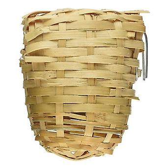 Prevue Finch All Natural Fiber Covered Bamboo Nest - 1 count