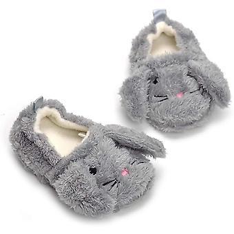 Csfry Baby Girl's Premium Soft Papuci de pluș Desene animate warm Winter House Shoes