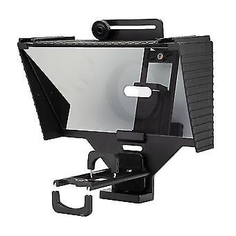 Camera accessory sets tc3 teleprompter for tablet smartphone dslr camera portable teleprompter with remote control lens