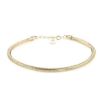 Royal Bali Collection 9K Geelgouden Ketting armband voor dames 7.5 ''