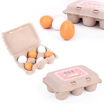 6 Simulación Niños Cocina Huevos de Pato Juguetes