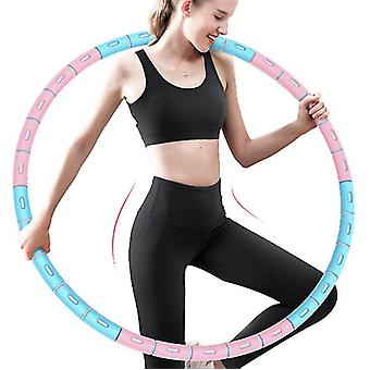 Weight Loss Exercise Hoop With Stainless Steel Core,6 Knots