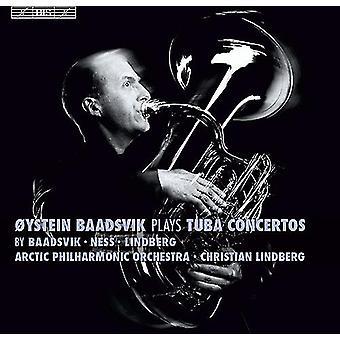 Baadsvik/Arctic Phil Orch/Lindberg - Oystein Baadsvik Plays Tuba Cons [SACD] USA import